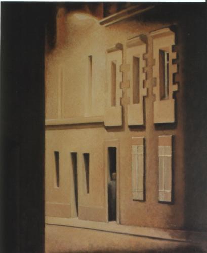 La rue 2004 - 73 x 60 cm