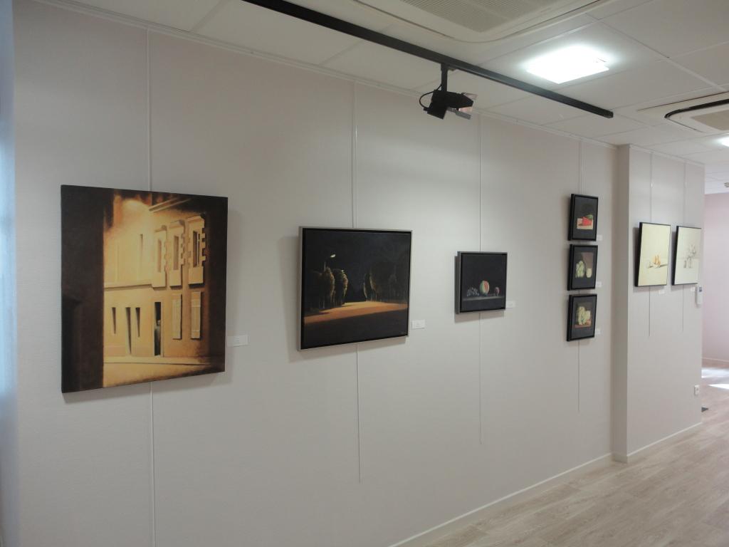 Toiles dans l'exposition 1