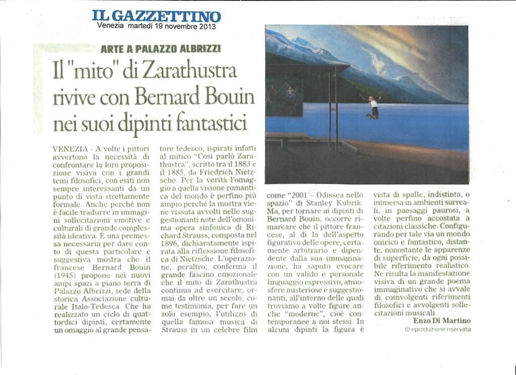 Il Gazzetttino 19 Novembre 2013
