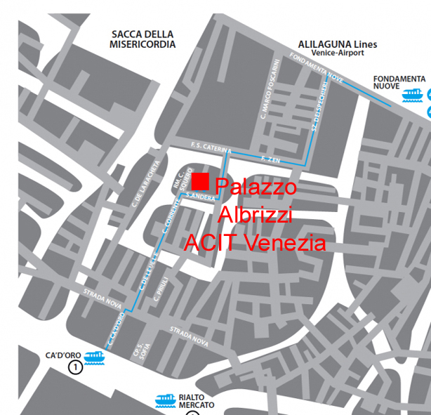 Palazzo Albrizzi plan copie