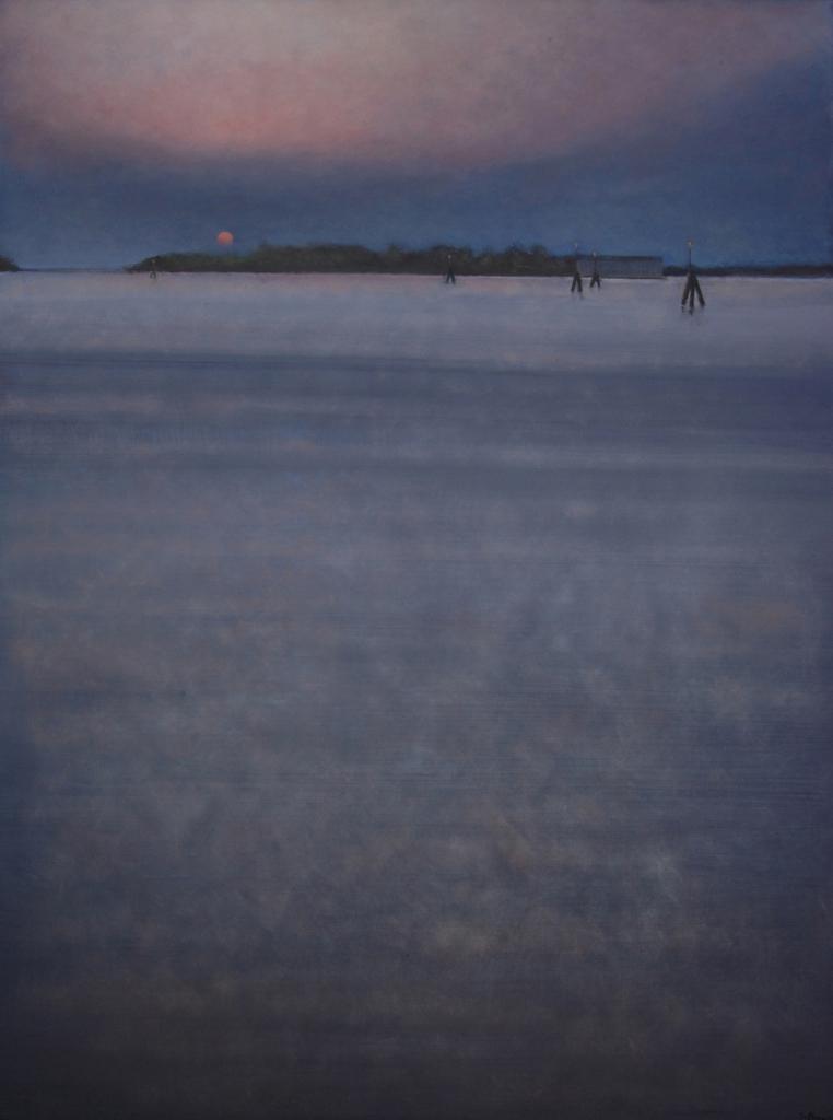 Crépuscule 130 x 97 cm