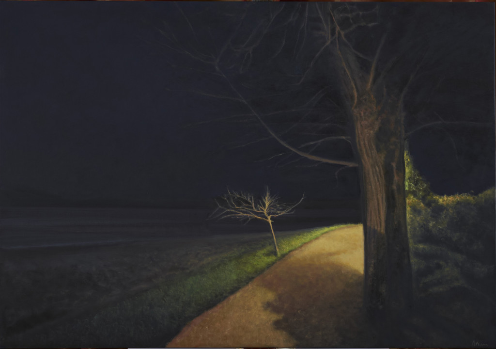 3. Les deux arbres 81 x 116 cm