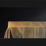 La lumière brille dans les ténèbres - Jean 1 5 – dimension 97 x 195 cm.